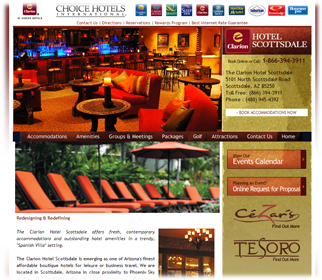 Professional Restaurant & Hotel Website Design Services in Arizona