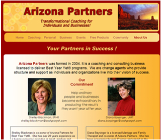 Professional Business Consulting Website Design Services Arizona