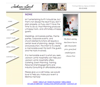 Professional Catering Website Design Services Arizona