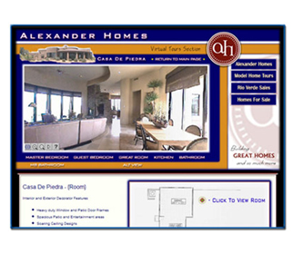 Professional Custom Home Builder Website Design Services Arizona