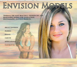 Professional Modeling Website Design Services Arizona