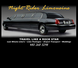 Professional Limousine Company Website Design Services Arizona