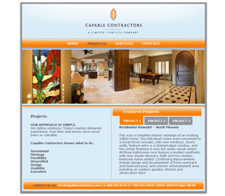 Professional Home Builder Website Design Services Arizona