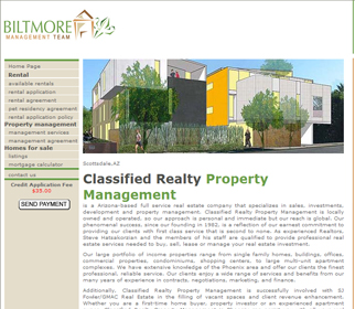 Professional Property Management Website Design Services Arizona