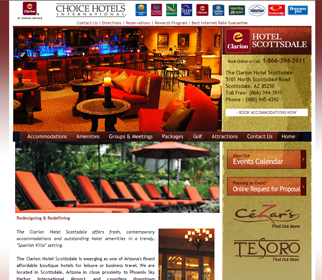 Professional Restaurant Lounge Website Design Services Arizona