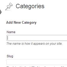 WordPress Post Categories