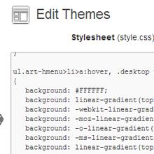 WordPress CSS Files