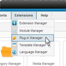 Joomla Plug-In Manager