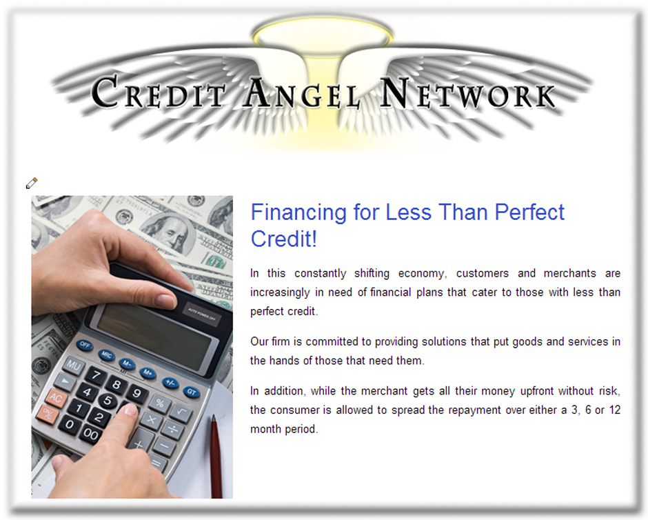 Web Designer for Credit Services