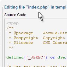 Joomla PHP Programming